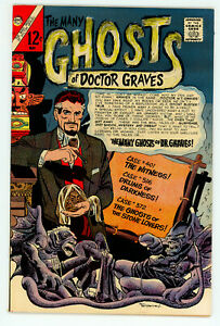 JERRY WEIST ESTATE: THE MANY GHOSTS OF DOCTOR GRAVES #1 (Charlton 1967) NM-! NR!