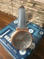 Fossil Watch Women's NWT And Box The Jacqueline Watch Stainless Steel Beautiful