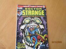 DR STRANGE COMIC BOOK DR STRANGE MEETS DEATH  4 1974