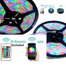 3528 rgb led strip 5m 15m 20m Magic wifi waterproof tape light Remote power set