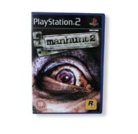 Manhunt 2 PlayStation 2 Game With Manual PAL Rockstar Sony Complete & Tested PS2