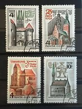 Russia 1973 Historical Buildings of Estonia, Latvia and . 4 stamp set CTO