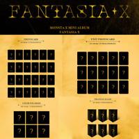 MONSTA X FANTASIA X 8th Mini Official [PHOTO CARD / TRIANGLE]
