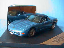 CHEVROLET CORVETTE CONVERTIBLE 1998 BLUE VITESSE 1/43