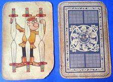 15207 Carte da gioco Comitato civico 1951 JACOVITTI - originale - Sei di spade