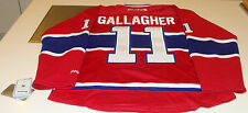 Montreal Canadiens Home Red Jersey NHL Hockey Brendan Gallagher M Habs 11 NWT