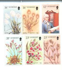Guernsey-Flora set mnh-Flowers