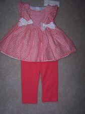 Girl's - 3-6 M - 2 Piece Set - Classic Cherry - First Impressions - MSRP $14.00