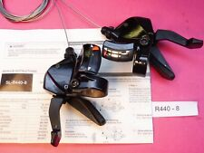 Shimano SL-R440 / 8 Speed ( FB ) Shifters - Black   /  leverset  -  NOS