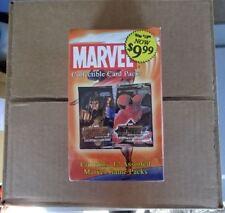 SEALED BOX OF MARVEL ASST'D GAME PACKS!  12 PACKS PER BOX!!