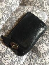 Mulberry Coin Purse Wallet Black Postmans Lock
