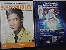 Elvis Presley: Viva Las Vegas (DVD, 2013, Canadian) & The Missing Years Lot of 2