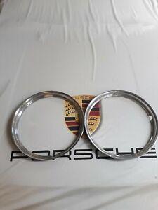 Porsche 356 Pre A Wheel beauty rings