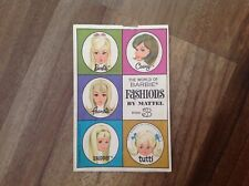 Vintage 1966 The World of Barbie Fashions by Mattel, Book 3