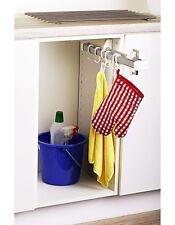 Hakenleiste ausziehbar Schrankauszug Ordnungssystem für Küche Kleiderschrank etc