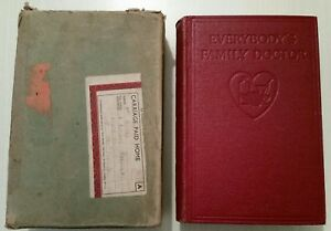 VINTAGE BOOK.1935-40.EVERYBODYS FAMILY DOCTOR.ILLUSTRATED.576 PAGES.PROP.DISPLAY