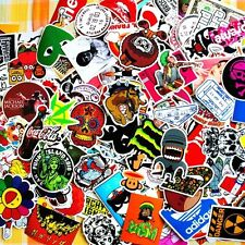 Job Lot of 50x Mixed Étanche Autocollants Skateboard CAMPER LOGO Cartoon Rude VW