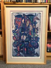 SIGNED Nathaniel Bustion Bobo Festival Series 2 Lithograph Limited Editon #148
