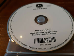 John Deere  5055E-5075E, Diagnostic Technical Manual CD TM901019