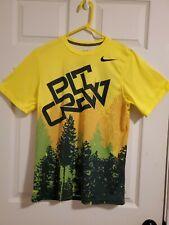 2016-17 Oregon Ducks Basketball Nike Pit Crew T-Shirt Tee Shirt Sz S Dri-fit