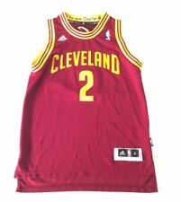 Adidas NBA Cleveland Cavaliers #2 Irving Jersey Youth Med 10-12 Stitched Wine
