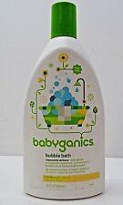 BabyGanics Bubble Bath Extra Gentle Chamomile Verbena Tear Free 20 oz Bottle