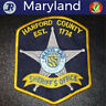 HARFORD COUNTY Sheriffs Office Maryland Police Shoulder Patch Law Enforcement