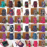 Newest Cross body Mobile Phone Shoulder Bag Pouch Case Belt Handbag Purse Wallet