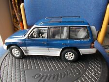 MITSUBISHI PAJERO/SHOGUN IN  BLUE/SILVER --USED /MINT/UNBOXED/LOVELY!!