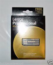 (1) New Lexar 512 MB 80x Memory Stick Professional camara Card Magic Sony Cyber