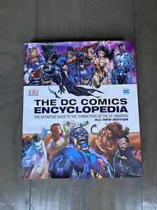 The DC Comics Encyclopedia Hardcover Book 2016