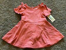 NWT Girls Sunbeam Pink Print Short Sleeve Dress 12 Months