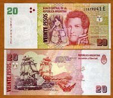 Argentina, 20 Pesos, ND (2003), Pick 355, E-Series, (2013), UNC > Sea Battle