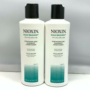 Nioxin Scalp Recovery For A Dry,Itchy Scalp Conditioner 6.7oz/200ml NEW;LOT OF 2