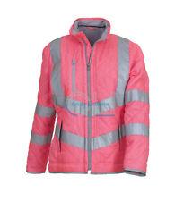 Ladies Pink Jacket Equestrian vest hi viz horse riding Reflective Kensington