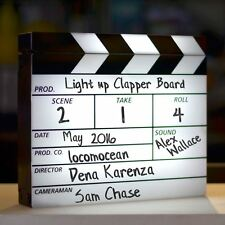 Iluminado Película Claqueta Lightbox con seco limpie marcador & Goma de Borrar