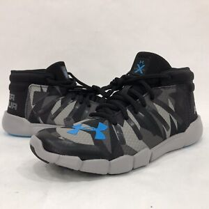 Under Armour Youth Sz 5.5Y[1295955-002], Level X Series Camo Gray/black New