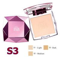 Mistine BB Diamond Super Pressed Powder Blemish Foundation SPF25 From Korea #S3