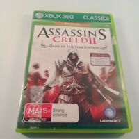 Xbox 360 Classics game Assassins Creed 2 Game of the Year Edition
