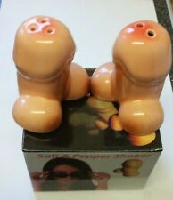 WILLY SALT AND PEPPER POTS. ADULT GIFT. JOKE.  NAUGHTY GIFT