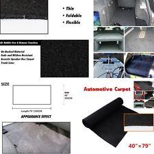 40''x79'' Black Hight Quality RV Boat Truck interior lining Carpet Heatproof Mat