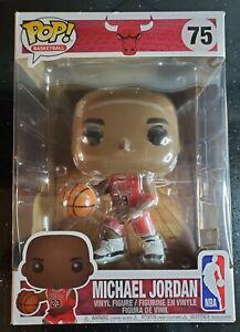 "Michael Jordan JUMBO 10"" Funko Pop Figure #75"