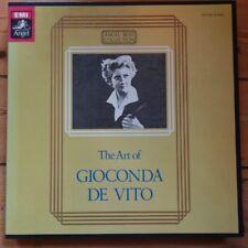 EAC-77350-60 The Art of Gioconda de Vito 11 LP box set