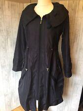 Lailishi Blue Fleece Lined Raincoat VGC 38
