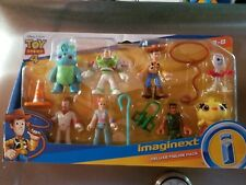 Imaginext Toy Story Deluxe Figure Pack Woody, Forky, Buzz, Bo Peep & more