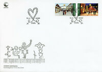 Norway Christmas Stamps 2020 FDC Markets Cultures & Traditions 2v S/A Set