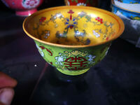 Chinese old porcelainThe republic of China bowl Powder enamel porcelain bowl 3