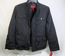 Alfani Men's Outerwear Coat Deep Black Slim Fit Small Style 1441OTW