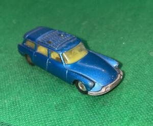 Vintage Blue Corgi Juniors Citroen Safari Station Wagon Car!