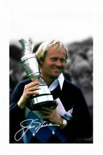 JACK NICKLAUS AUTOGRAPHED SIGNED A4 PP POSTER PHOTO